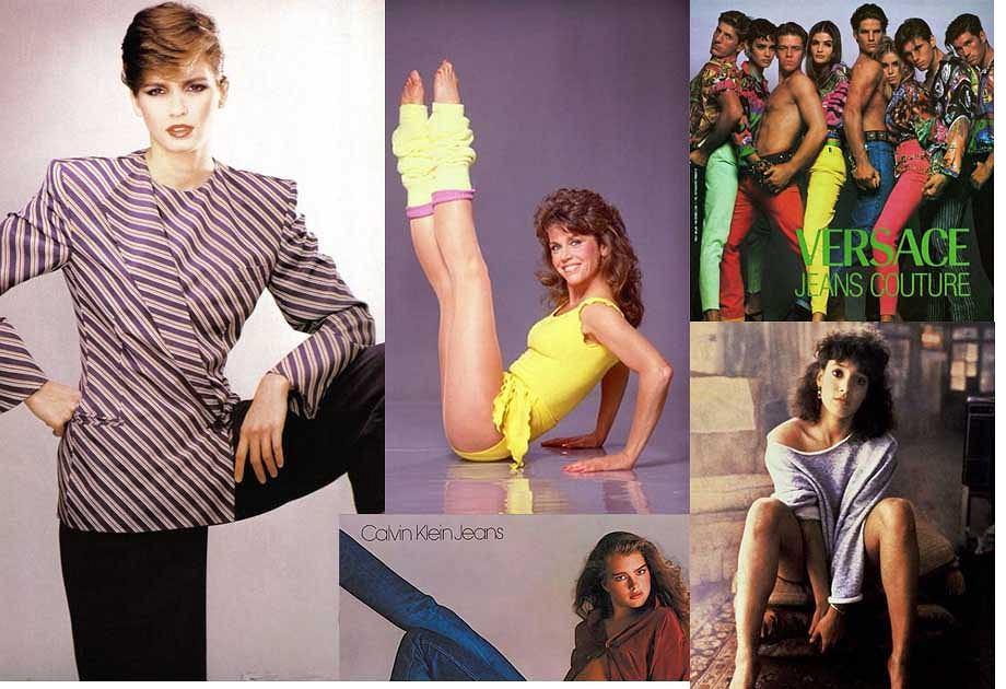 Moda lat 80.