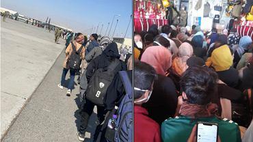 Afgańskie piłkarki i inni sportowcy ewakuowani przez Australijczyków. Źródło: Twitter