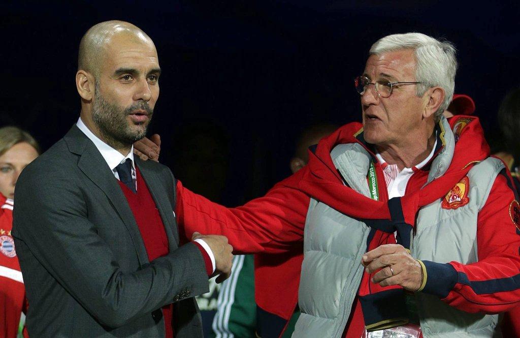Pep Guardiola i Marcelo Lippi
