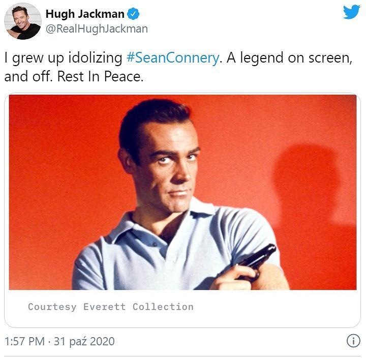 Hugh Jackman na Twitterze