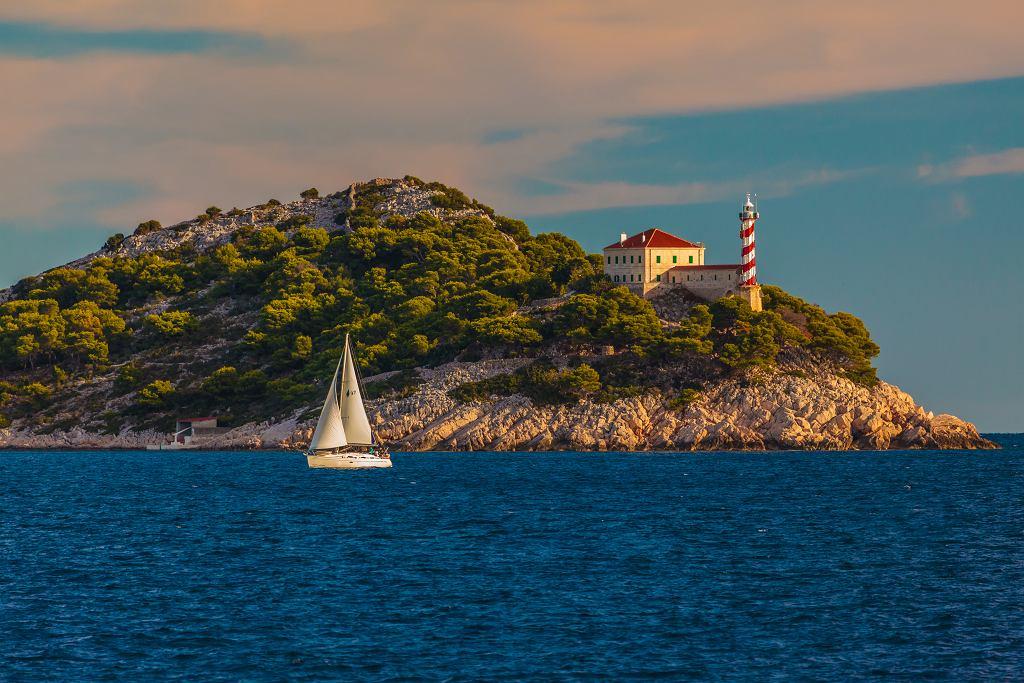 Żagle w Chorwacji