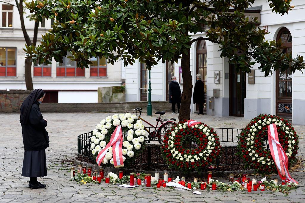 Zamach terrorystyczny w Wiedniu (zdjęcie ilustracyjne)