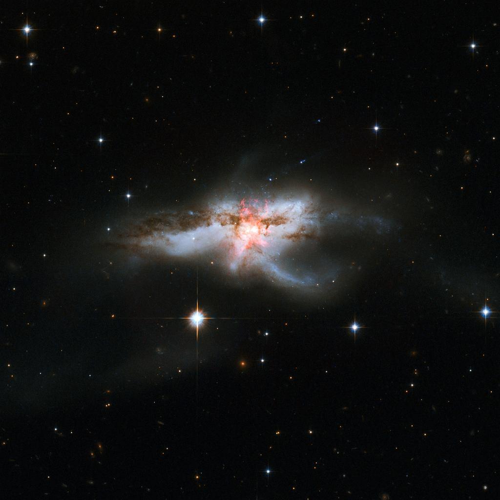 Galaktyka NGC 6240