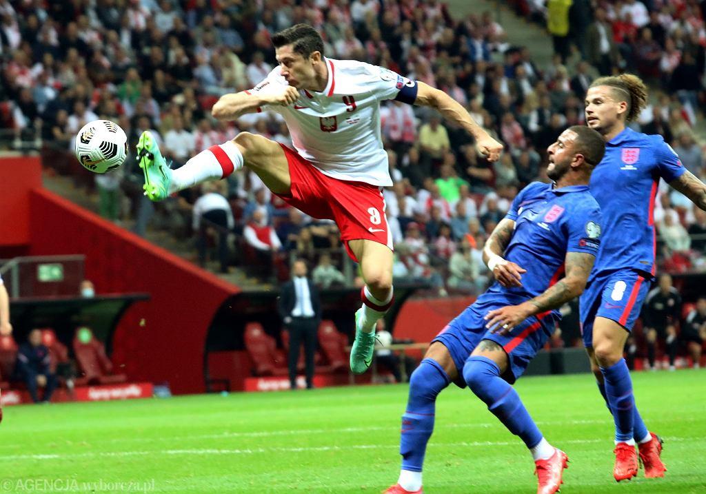 Robert Lewandowski po meczu Polska - Anglia