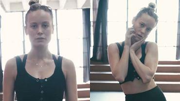 Brie Larson w nowym układzie tanecznym