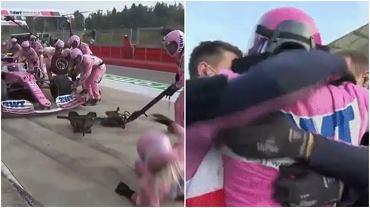 Lance Stroll jeszcze dwa tygodnie zaliczył wpadkę orzy pit stopie, z której śmiało się całe środowisko F1. W Turcji wywalczył pole position