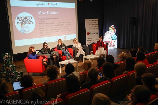 Spotkanie 'Kobiety wiedzą, co robią' w Krakowie