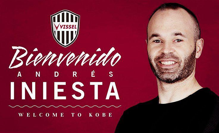 Andres Iniesta zawodnikiem Vissel Kobe