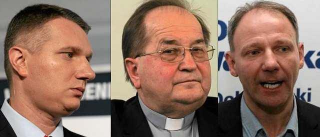 Przemysław Wipler, o. Tadeusz Rydzyk, Jacek Protasiewicz