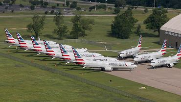 American Airlines Boeing Plane