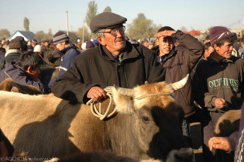Kirgistan, targ zwierzęcy