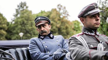 Plan filmu 'Piłsudski' w reżyserii Michała Rosy