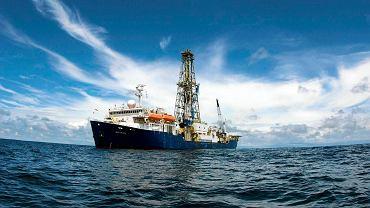 Ekspedycja na Brzeg Atlantydy będzie prowadzona z pokładu statku badawczego 'JOIDES Resolution' (na zdjęciu). Uczeni będą wiercić w dnie Oceanu Indyjskiego, kilkaset km na południowy wschód od Madagaskaru