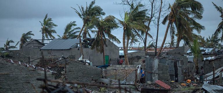 Mozambik. Miasto wielkości Poznania w 90 proc. zniszczone przez cyklon