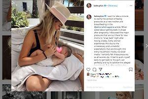 Modelka Kate Upton o karmieniu piersią: Wysysało ze mnie energię