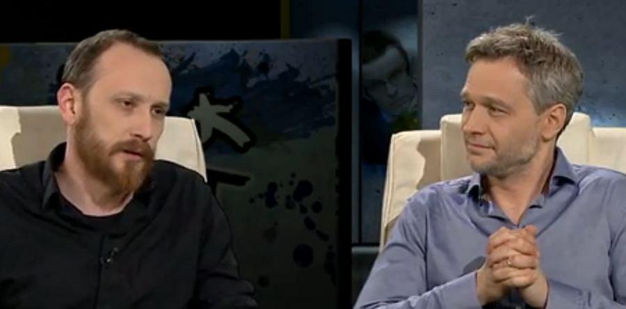 Gorąca dyskusja Pawła Demirskiego i Michała Żebrowskiego w TVN24