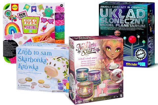 Niewiarygodnie Zestawy kreatywne - ciekawy pomysł na niedrogi prezent dla dzieci WY86