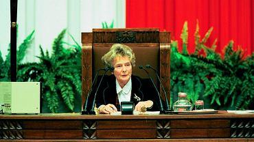 Olga Krzyżanowska: Szukali kandydatów na posłów, chcieli kobietę. Miała zostać żona Borusewicza, ale ocenił, że nie wypada. I wymyślili mnie