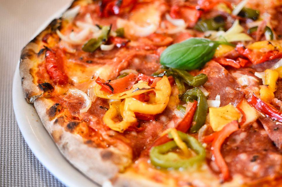 Restauracja Peperoncini, pizza