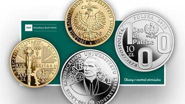 Nowe monety kolekcjonerskie NBP na 100-lecie KUL