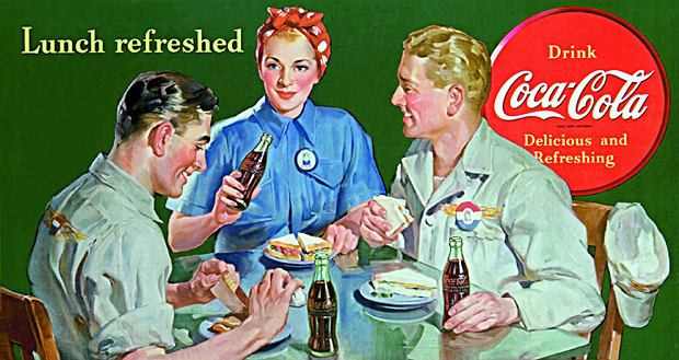 Zdjęcie numer 3 w galerii - Nixon pije Pepsi, Carter Coca-Colę
