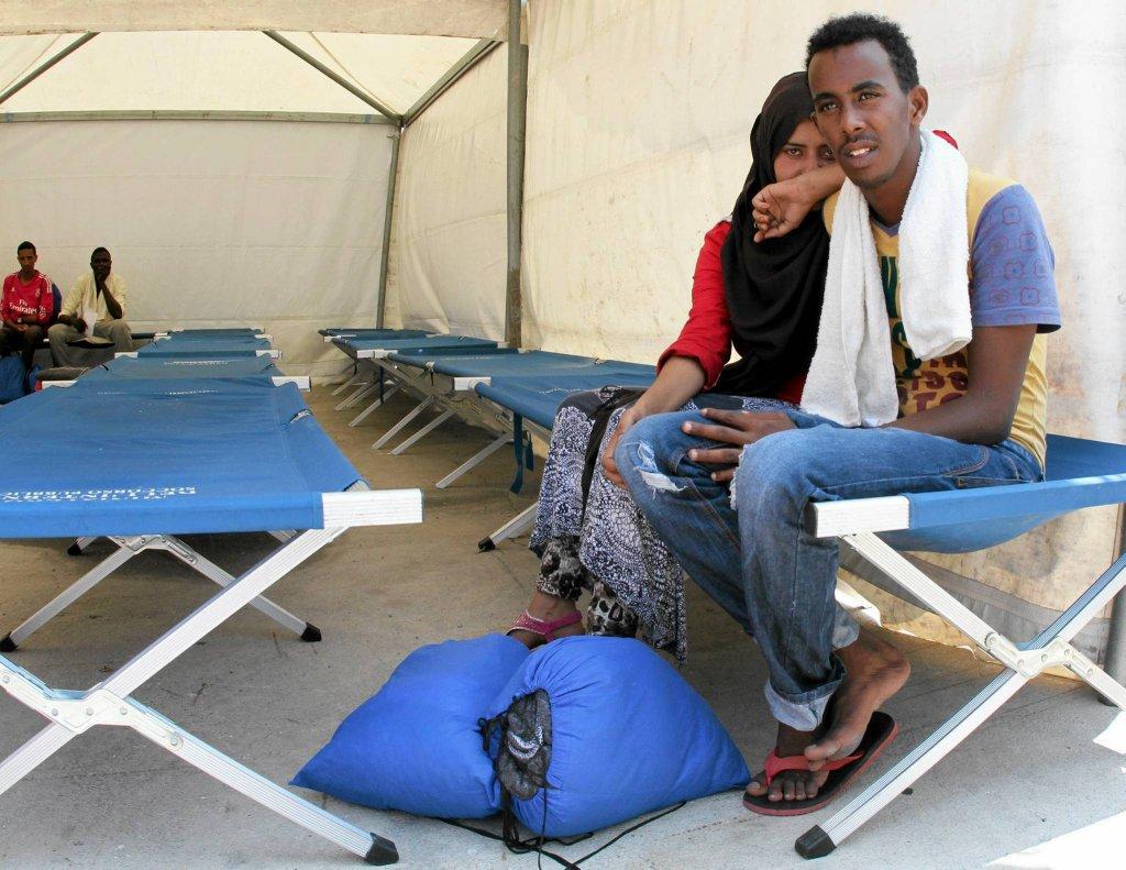 Uchodźcy z Afryki Północnej