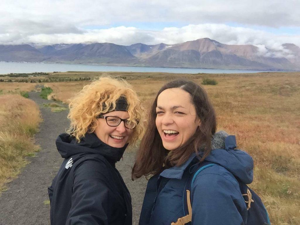 Kinga i Marta, po uszy zakochane w Islandii