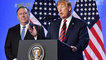 Donald Trump na szczycie NATO
