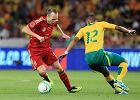 Piłka nożna. Hiszpania przegrała z RPA, kontuzja Valdesa