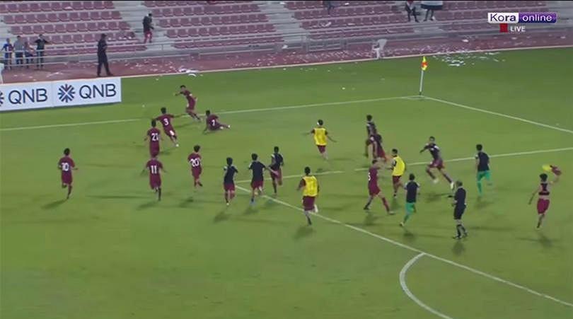 Mecz Katar - Irak
