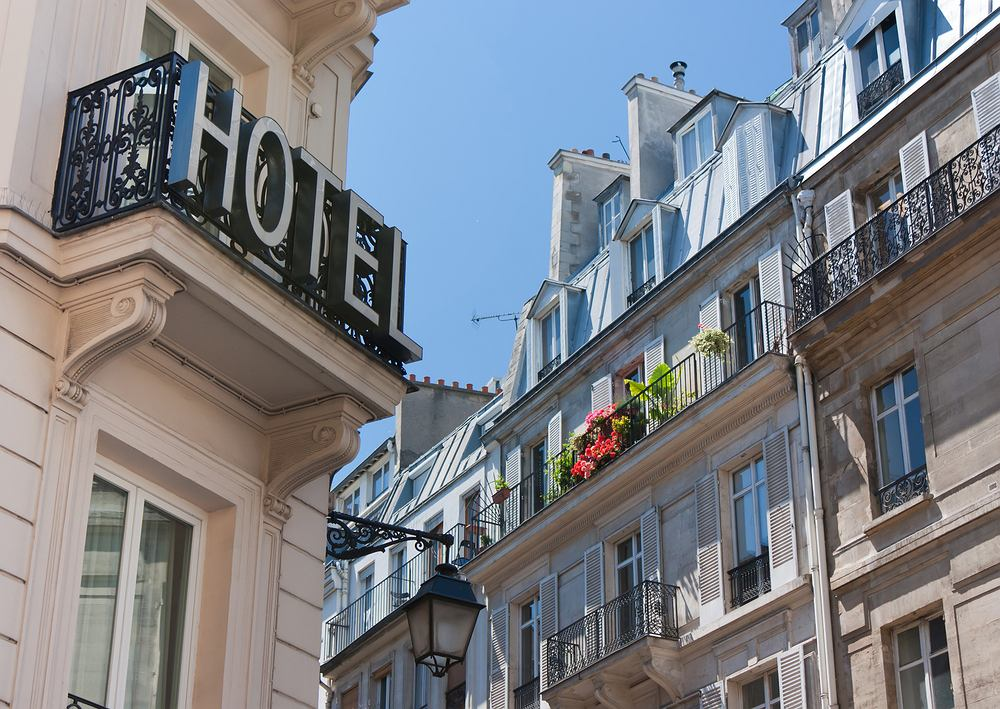 Hotel w Paryżu