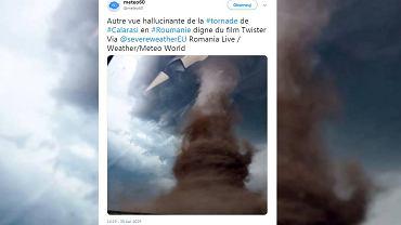 Tornado w Rumunii