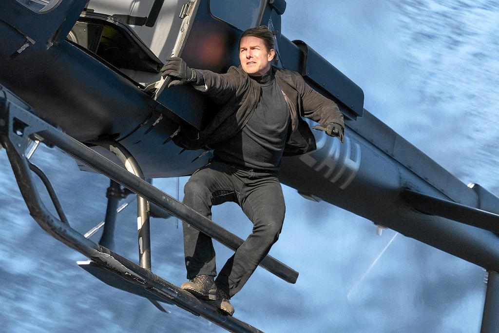Tom Cruise jako Ethan Hunt w filmie 'Mission: Impossible - Fallout'