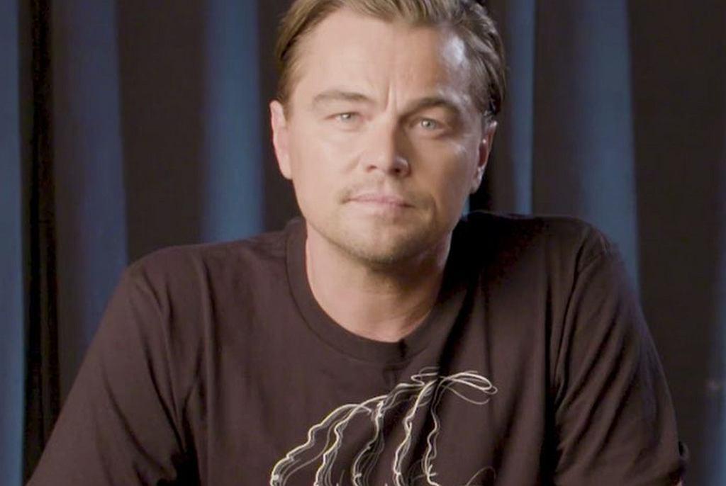 Leonardo DiCaprio nawołuje do prostej zmiany w diecie