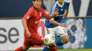 Heung-min Son i Atsuto Uchida