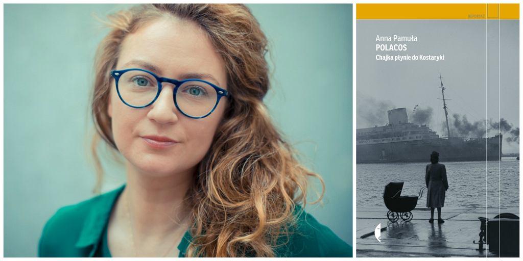 Książka Anny Pamuły ''Polacos. Chajka płynie do Kostaryki'' ukazała się nakładem Wydawnictwa Czarne (fot. materiały prasowe)
