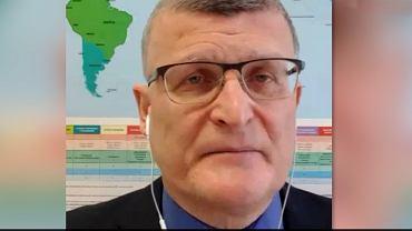 Dr Paweł Grzesiowski. Epidemiolog. Prezes fundacji Instytut Profilaktyki Zakażeń.