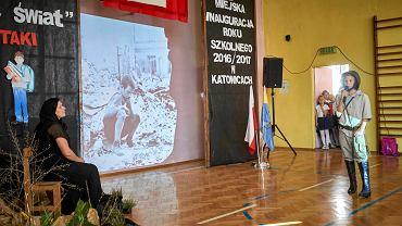 Rozpoczęcie roku szkolnego w SP nr 20 w Katowicach, wrzesień 2016