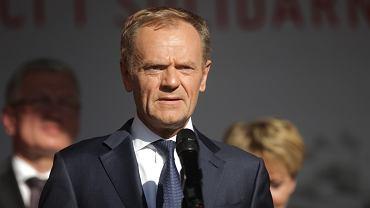 Donald Tusk na Długim Targu w Gdańsku 4.06.2019
