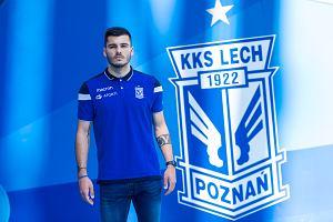 Lech Poznań ma nowego piłkarza! Podpisał czteroletni kontrakt