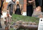 Kim Kardashian ubrała córkę w futro za kilka tysięcy dolarów. Obrońcy praw zwierząt oburzeni