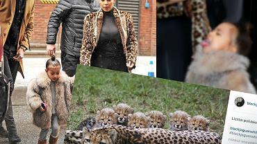 Kim Kardashian i jej córka North West