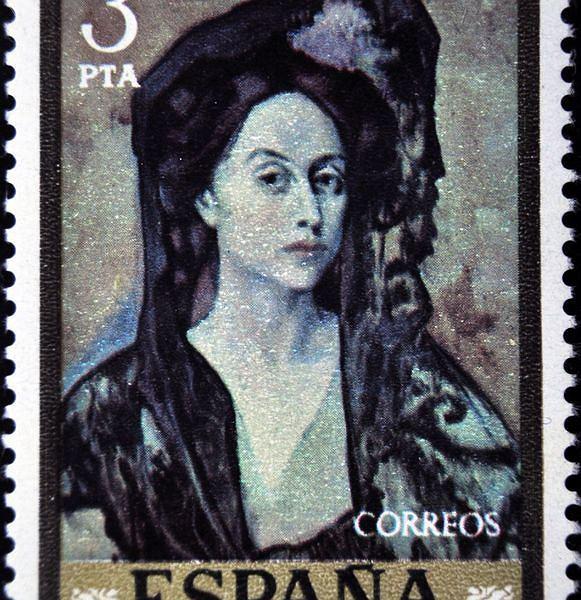 znaczek pocztowy z Hiszpanii