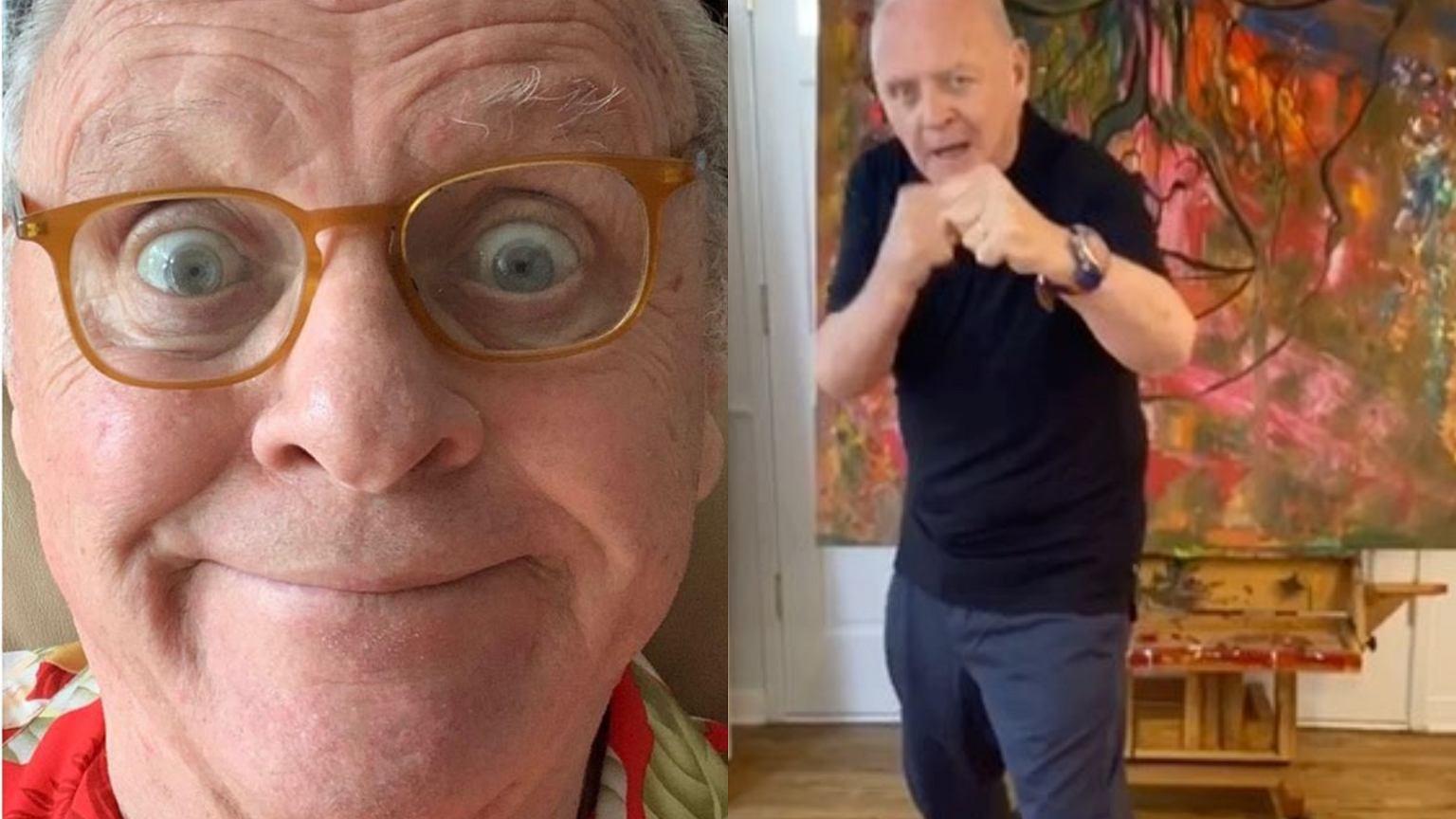 Anthony Hopkins na TikToku! 82-letni aktor tańczy do znanego hitu i jest przy tym rozbrajający