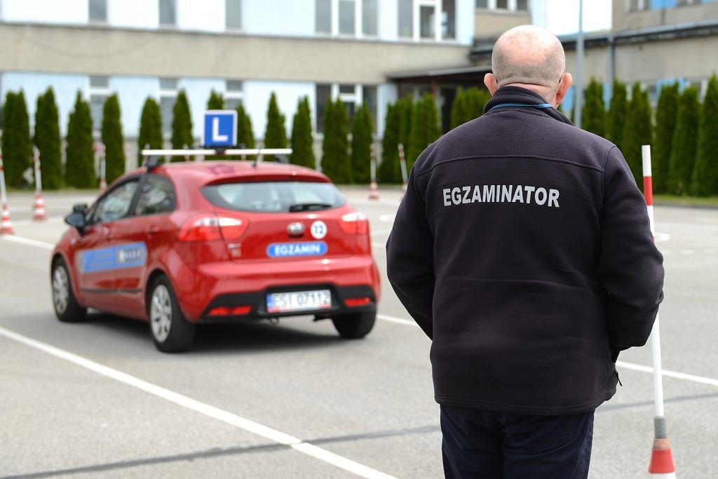 Egzamin praktyczny na prawo jazdy