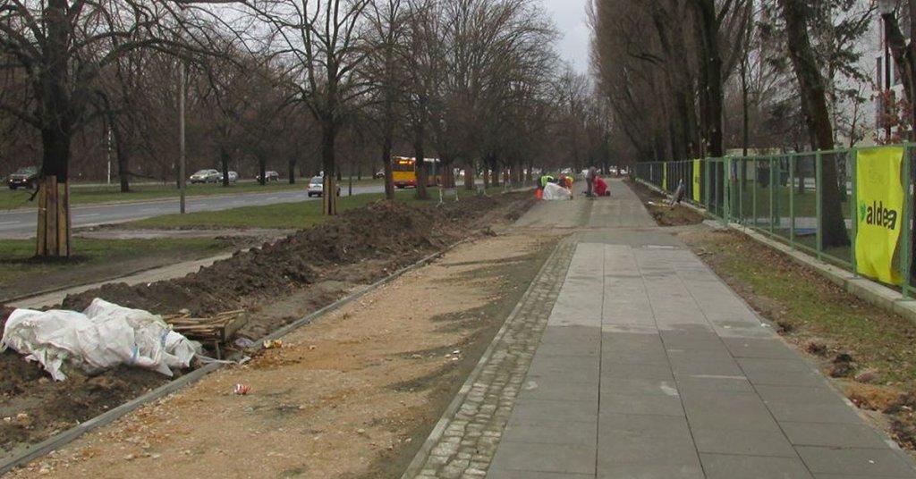 Budowa nowej drogi dla rowerów wzdłuż ul. Żwirki i Wigury