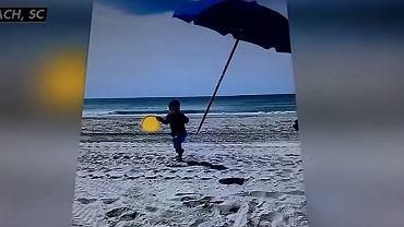 Parasole plażowe mogą stanowić poważne niebezpieczństwo