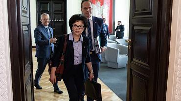 Szefowa MSWiA Elżbieta Witek