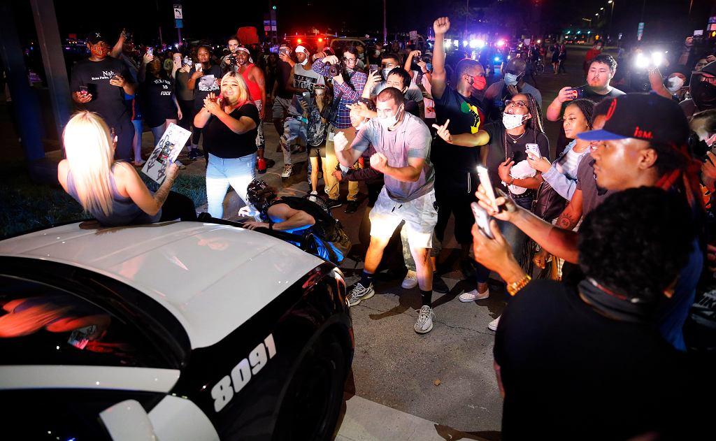 Protesty w Dallas