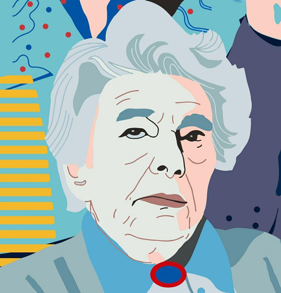 Aniela Steinsbergowa, fragment muralu 'Kobiety Wolności'